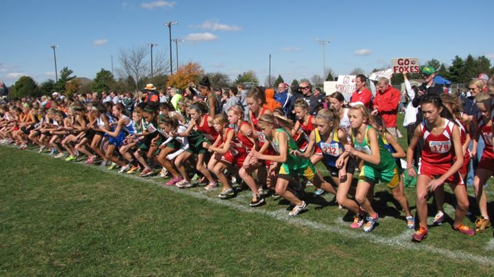 2011 YMSXC First IESA State Top 10 Finish