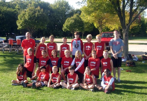 Original YMS Cross Country Team